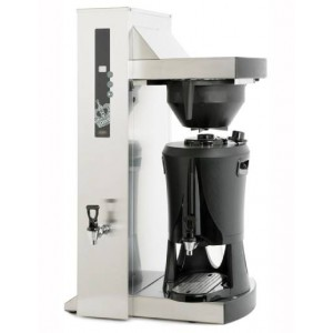 Coffee Queen Serving Concept Single Tower
